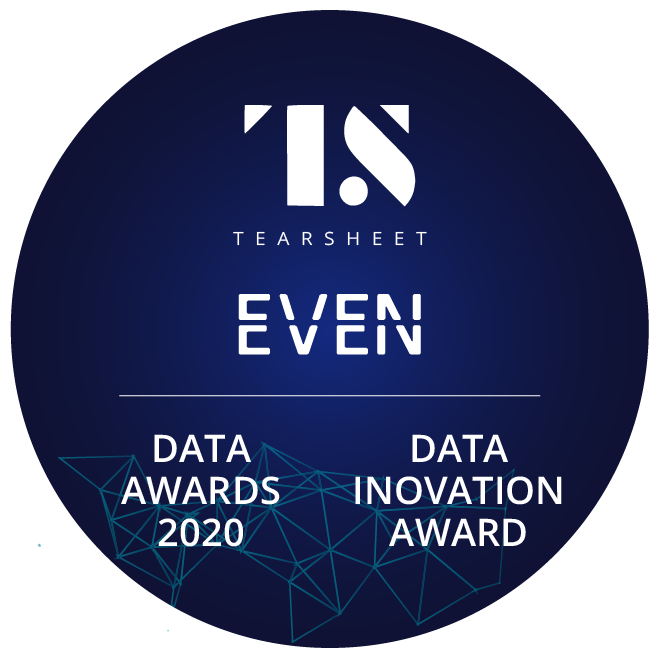 TearSheet Data Awards - Data Innovation Award