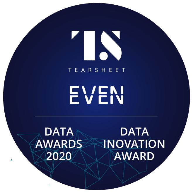 TearSheet Data Awards - Data Innovation Award